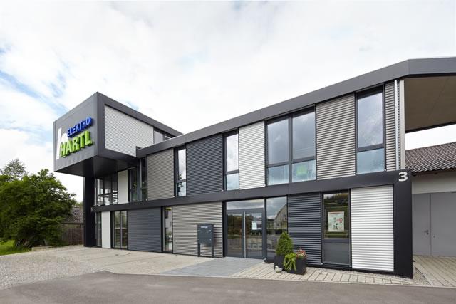 Firmenzentrale von Elektro Hartl